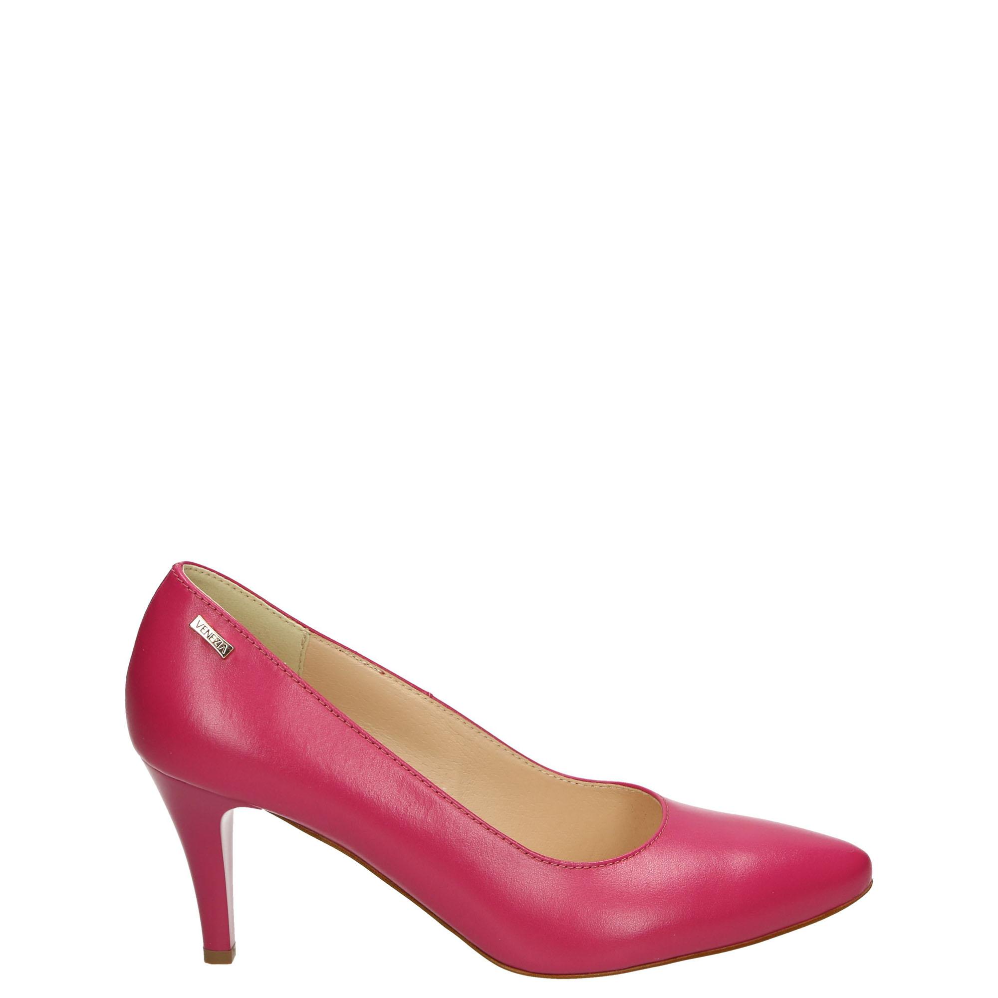 a2c6eb72 czółenka, buty - kolekcja wiosenna venezia czółenka - 23029 cap fux -  venezia